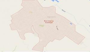 harta satului Costesti