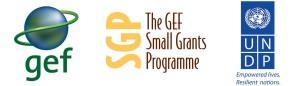 logo GEF, SGP, UNDP