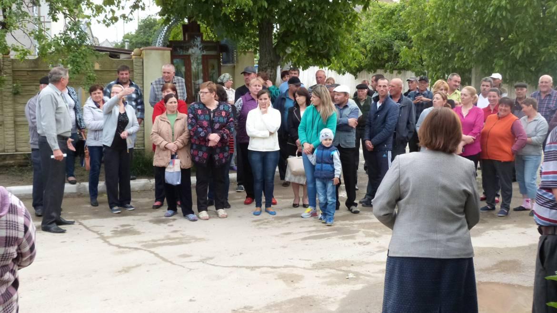 """Adunarea generală a beneficiarilor fîntînii arteziene nr. 3 din zona """"În deal la mori"""""""