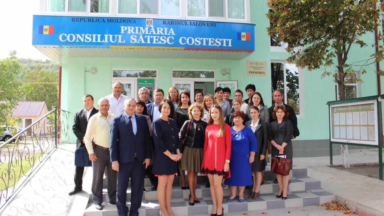 Secretarii Consiliilor Locale din raionul Ialoveni au fost instruiți în satul Costești