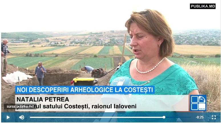Noi descoperiri arheologice! În situl de la Costești au fost găsite cinci morminte din secolul XIV