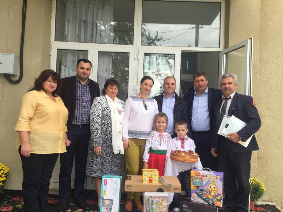 Echipamente educaționale moderne pentru școlile și grădinițele din satul Costești