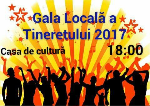 """Invitație la """"Gala Locală a Tinerilor din satul Costești"""""""