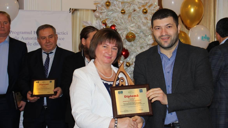 Satul Costești premiat printre cele mai bune practici ale autorităților publice locale din Moldova în 2017