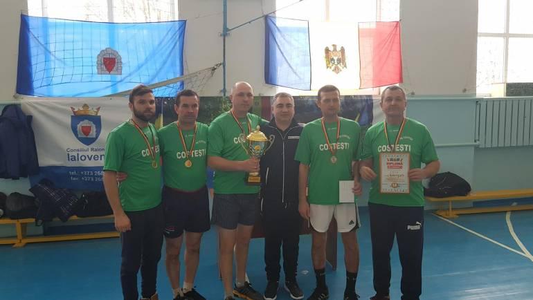 """Satul Costești a cîștigat locuri de frunte la """"Campionatul raional la tenis de masă, șah și joc de dame"""""""