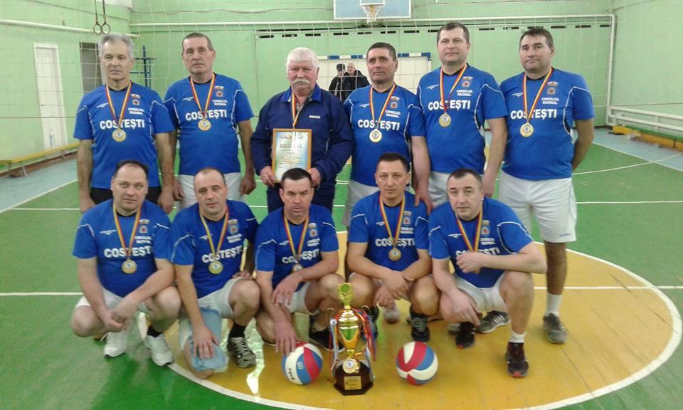 Satul Costești a cîștigat Campionatul raionului la volei veterani 40+
