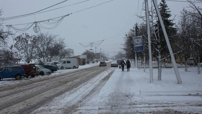 Primăria Costești informează despre situația accesului la trafic rutier, în legătură cu condițiile meteorologice nefavorabile