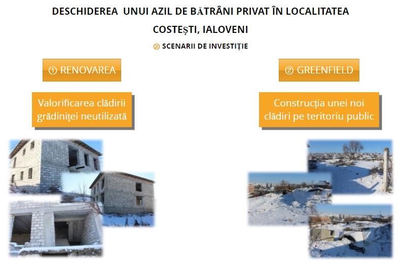 O nouă amînare a consultărilor publice inițierea unui azil de bătrîni privat în satul Costești