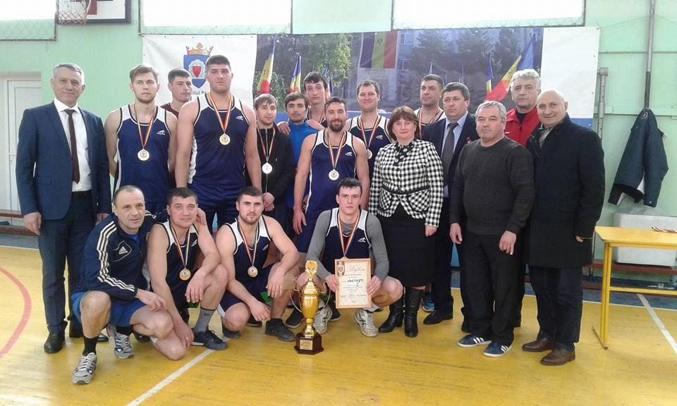 Echipa de baschet masculin a satului Costești este campioana raionului Ialoveni