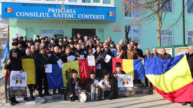 ULTIMA ORĂ! Satul Costești a semnat delcarația de UNIRE cu România prin intermediul a 23 de consilieri locali, primarul localității și peste 1000 de cetățeni