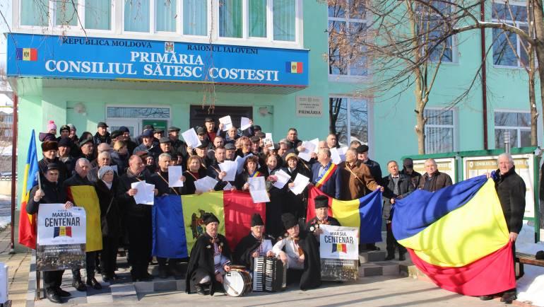 """Programul de activități culturale în satul Costești cu ocazia """"Centenarului Unirii"""""""