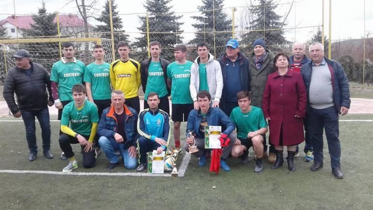 Locul II pentru echipa satului Costești la minifotbal (seniori)
