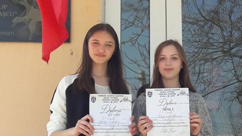 """Premii de valoare pentru discipolii școlii de muzică """"Filip Todirașcu"""""""