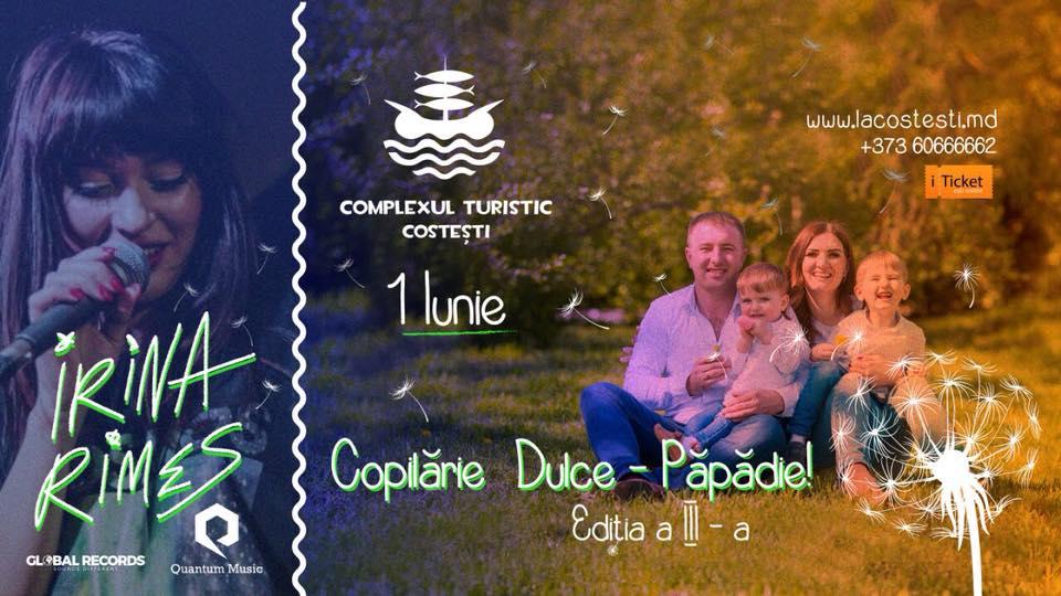 """Invitație la """"Festivalul Copilărie Dulce-Păpădie, ediția a III-a"""""""