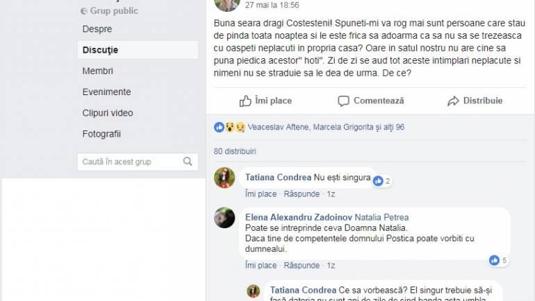 ANUNȚ! Inspectoratul de Poliție Ialoveni invită cetățenii la o ședință publică privind situația criminogenă în satul Costești