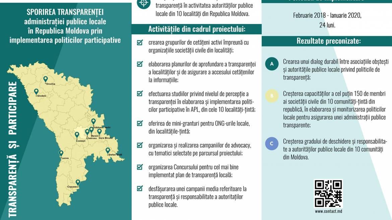 Sporirea transparenței la Costești
