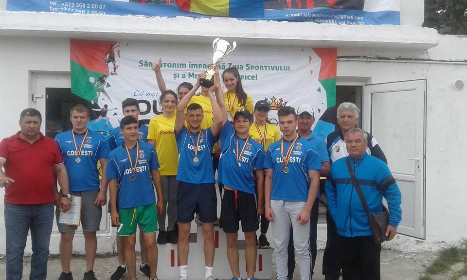Sportivii satului Costești – cei mai buni din raionul Ialoveni!