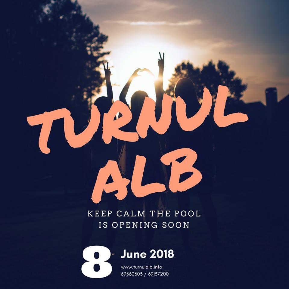 """Invitație la prima petrecere din vara 2018 la pensiunea turistică """"Turnul ALB"""""""