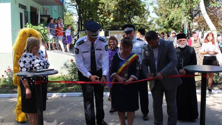 În satul Costești a fost inaugurată Aleea Siguranței de către Inspectoratul General de Poliție
