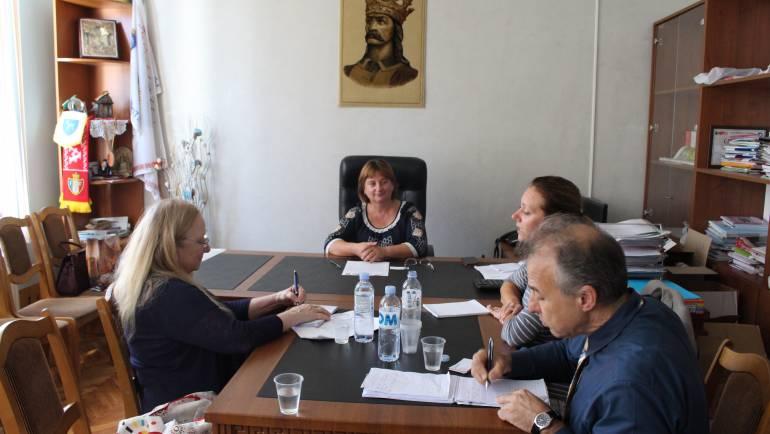Primăria Costești vizitată de oficiali din Washington ai Departamentului de Stat SUA și USAID
