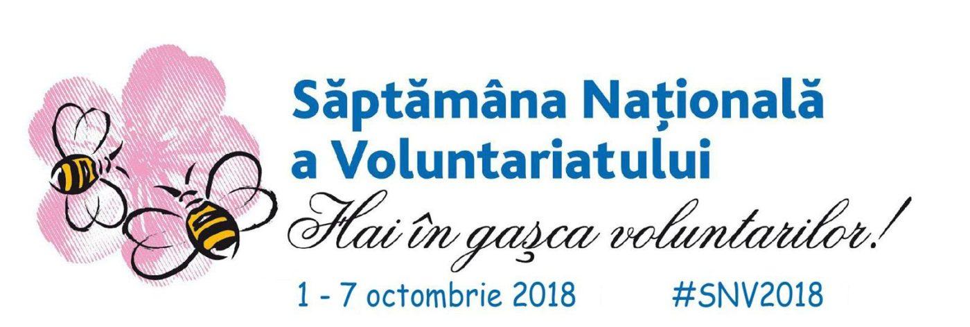 Săptămâna națională a  voluntarilor !!!