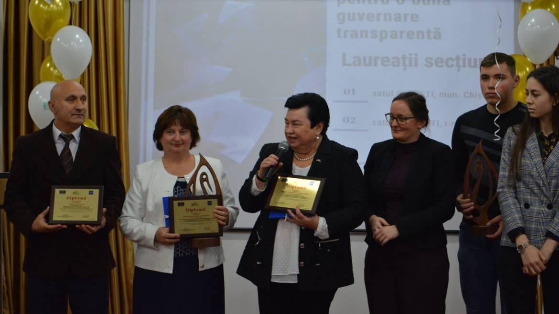 Locul II pentru Primăria Costești în cadrul Programului bunelor practici ale autorităților publice locale