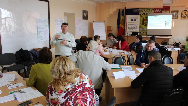 Atelier de actualizare a Strategiei de dezvoltare a satului Costești