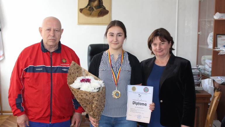 Veronica Mereacre este campioană națională la Judo