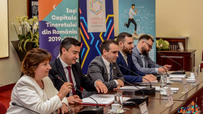"""Satul Costești invitat la evenimentul de lansare """"Iași – Capitala Tineretului din România 2019-2020"""""""