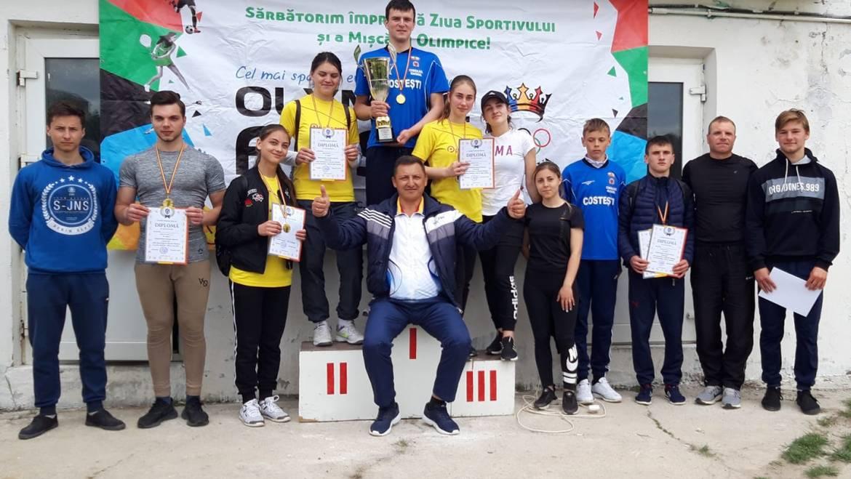 Tinerii din satul Costești au cîștigat locul I în cadrul Spartachiadei Raionului Ialoveni