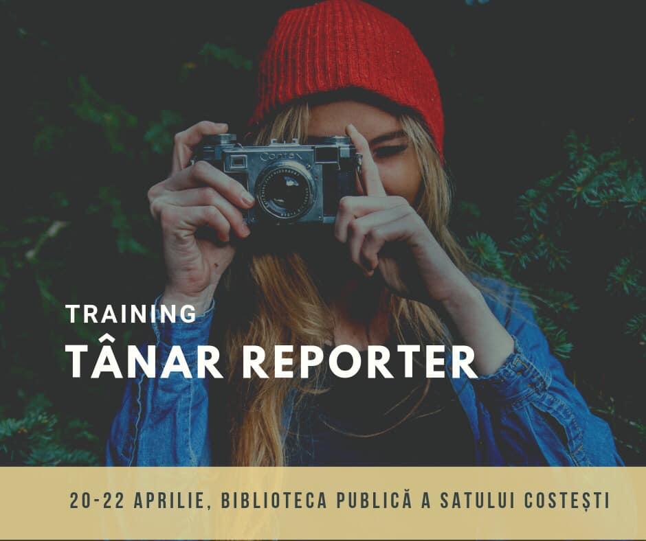 Se creează Clubul Tînărului Reporter. Vre și tu în echipă?Aplică!