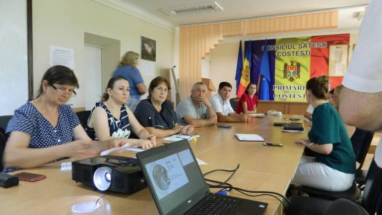 Angajații Primăriei au fost instruiți privind crearea unui Centru de Informare și Prestări Servicii