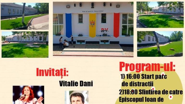 """Invitație la deschiderea parcului """"EDEN"""" din satul Costești"""