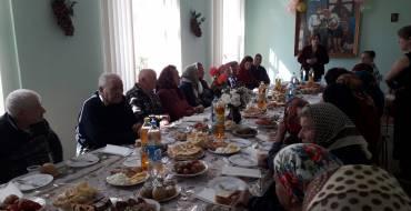 """Ziua Persoanelor în etate a fost sărbătorită în centrul social """"Speranța"""" din Costești"""