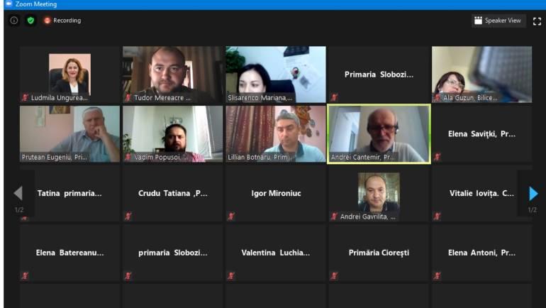 """Webinar pentru Primăria Costești privind """"Utilizarea platformelor digitale"""""""