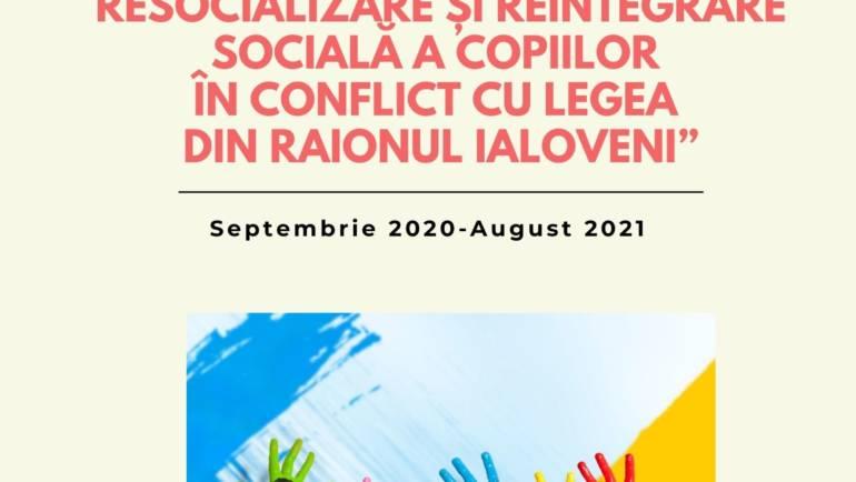 Raionul Ialoveni va beneficia de un proiect care are scop reducerea delicvenței juvenile