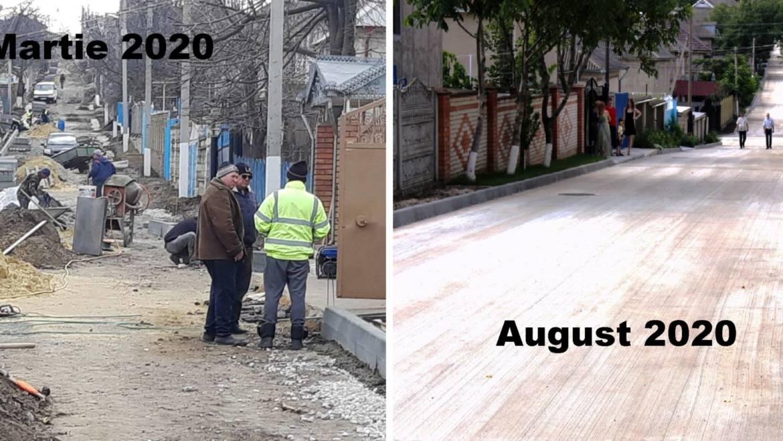 Vara anului 2020 s-a finalizat cu încă un drum construit cu succes pentru sătenii din satul Costești