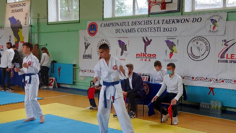 """""""Campionatul Deschis la Taekwon-Do Dunamis Costești 2020""""."""