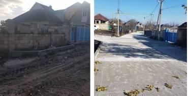 """Regiunea """"În deal la Mori"""" se bucură de un nou drum construit"""