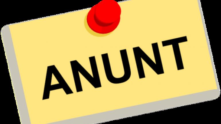 """Invitație la prezentarea """"Raportului de Activitate"""" a primarului satului Costești"""