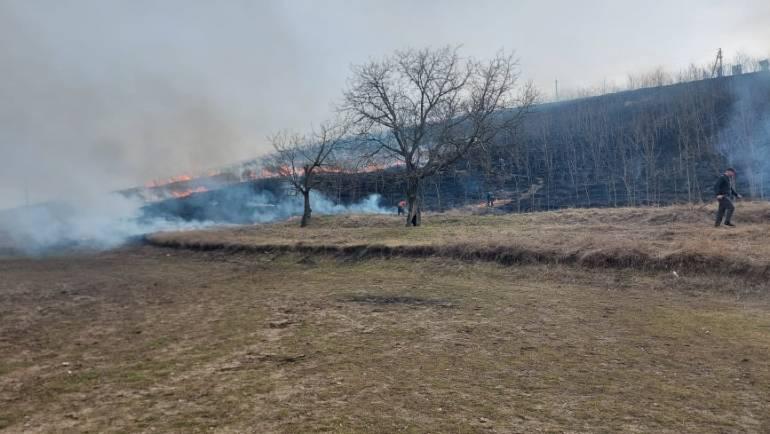 Adresare către cetățeni privind incendiile terenurilor agricole