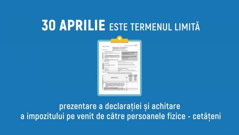 Informație privind declarațiile impozitului pe venit a persoanelor fizice