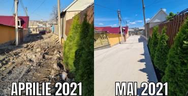 """Recepția lucrărilor de construcție a străzii """"Sf. Nicolae"""""""
